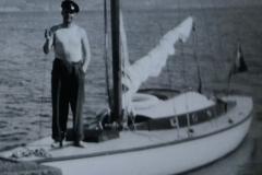 Båt vid sjöbo