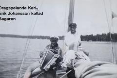 Män i båt