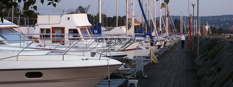 Hamnen i Huskvarna