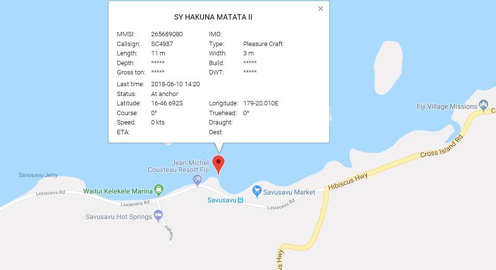 S/Y Hakuna Matata